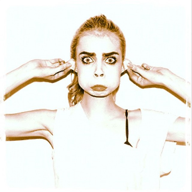 Cara does her best