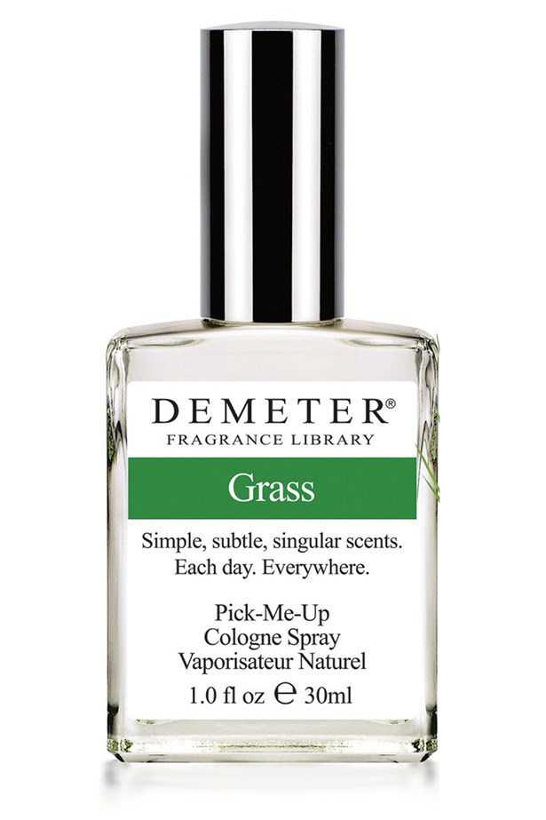 Grass Pick-Me-Up Cologne Spray, approx $20, Demeter, demeterfragrance.com In a study of 100 people, cut grass lists as the fourth-favourite smell. What filly could resist?!