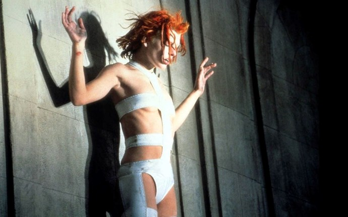Milla Jovovich's outfit in <em>The Fifth Element</em> – Space aged? Tick. Medico avant-garde? Tick. Designed by Jean-Paul Gaultier? Triple tick. Strap us in already.