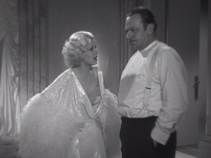 Jean Harlow's dressing gown in <em>Dinner At Eight</em> – Having so many feathers up your sleeve it is borderline impossible to do anything but fluff – and longue is frankly an excellent way to make an entrance (or exit).