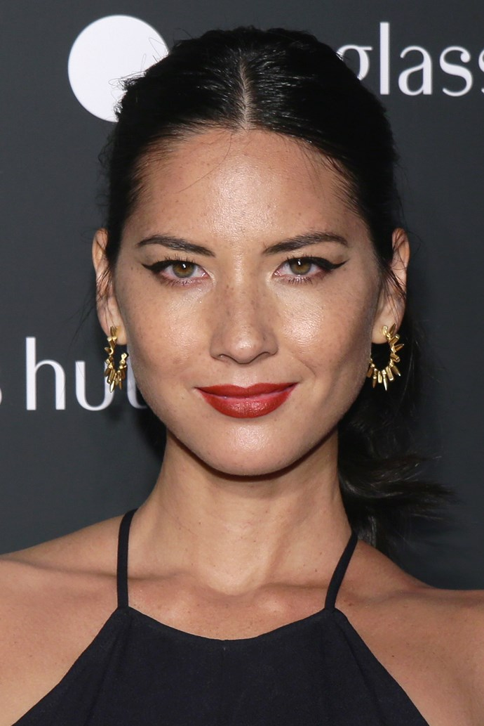Amid an often cookie-cutter crowd on the red carpet, Olivia Munn's enviable complexion sets her apart from the rest.