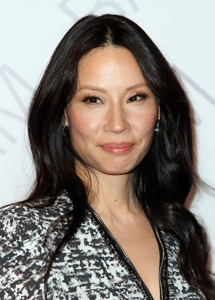 Looks like Lucy Liu is a huge fan of creamy blush – the perfect cheeky investment for those who want translucent colour, to let them freckles be freckles.