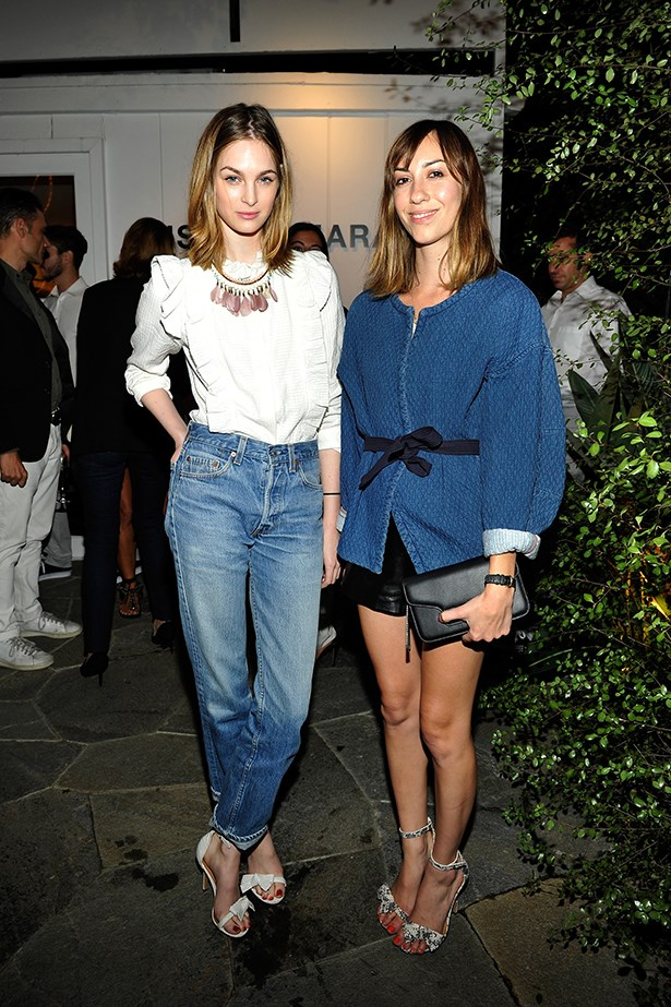 Laura Love and Gia Coppola.