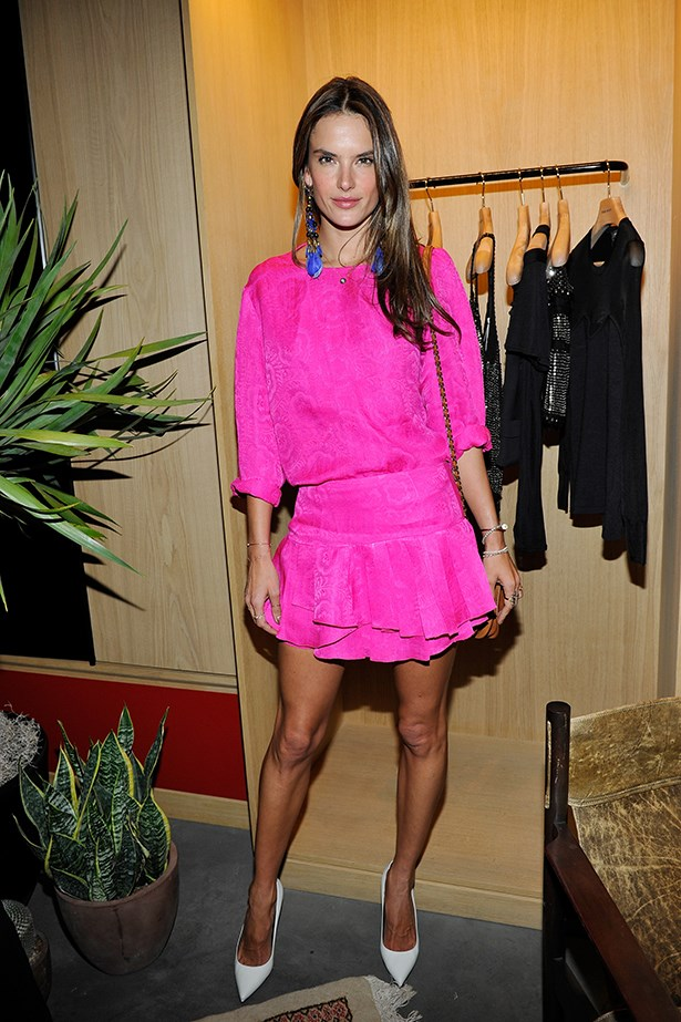 Alessandra Ambrosio wearing Isabel Marant Resort 14.