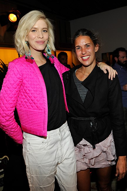 Elena Perminova and Isabel Marant
