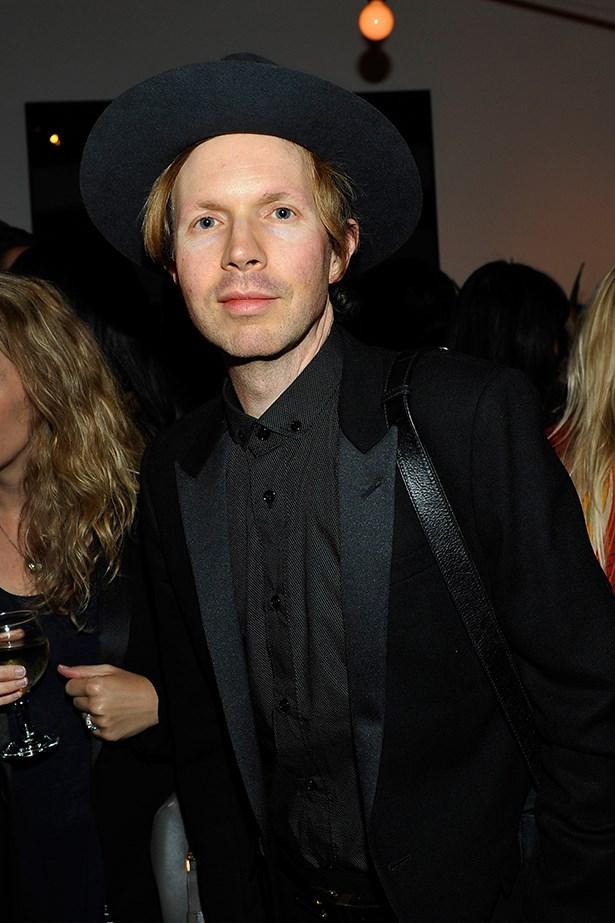 Musician Beck Hansen.
