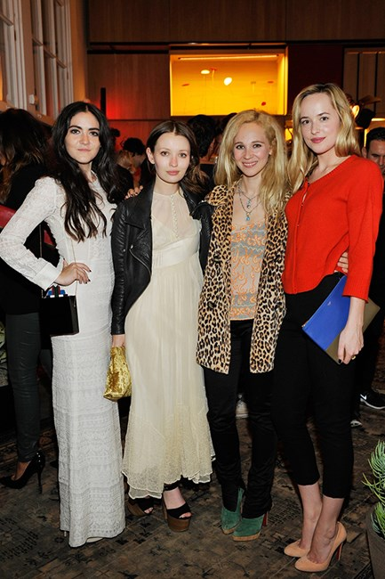 Isabelle Fuhrman, Emily Browning, Juno Temple and Dakoda Johnson