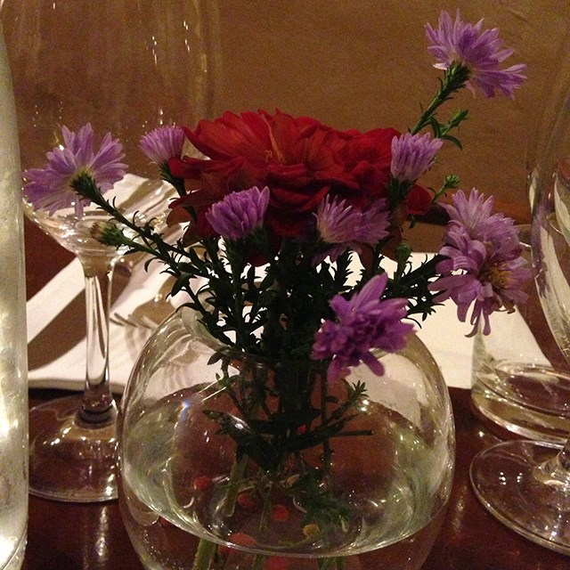 Fabulous flowers at Fioraio Bianchi for our Stella Jean dinner in Milan.