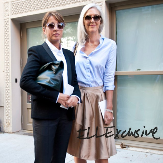 <p><strong>New York</strong></p> <p>Ruth Chapman (joint CEO) and I getting snapped outside the shows.</p>