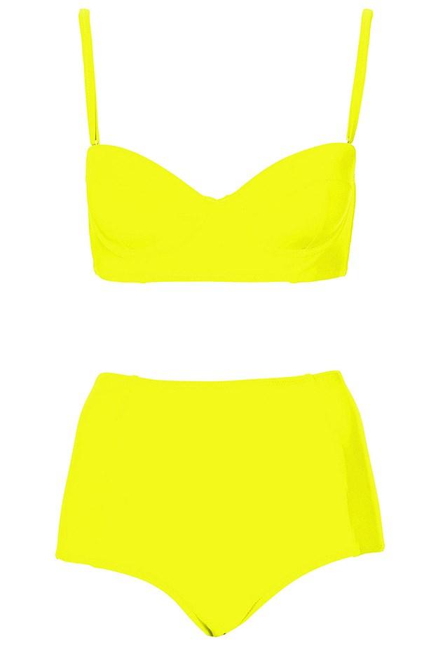 """Bikini, approx $41.95, Topshop, <a href=""""http://www.topshop.com"""">topshop.com</a>"""
