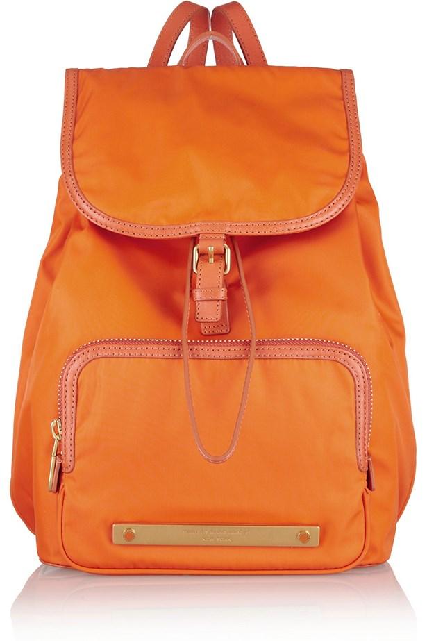 "Backpack, $384.83, Marc By Marc Jacobs, <a href=""http://www.net-a-porter.com "">net-a-porter.com </a>"