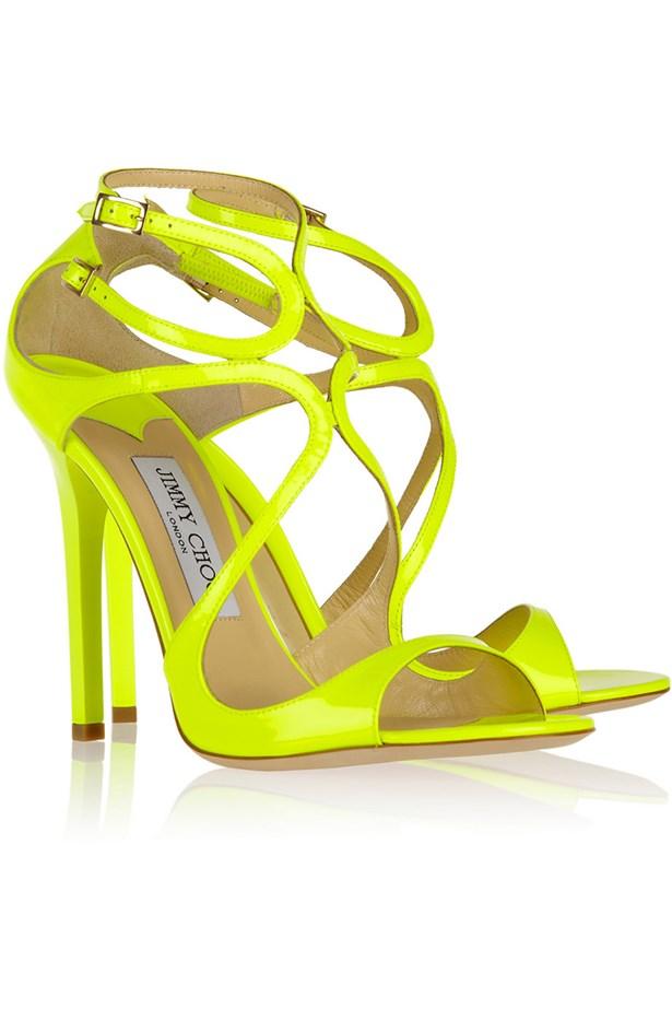 """Heels, $706.21, Jimmy Choo, <a href=""""http://www.net-a-porter.com"""">net-a-porter.com</a>"""