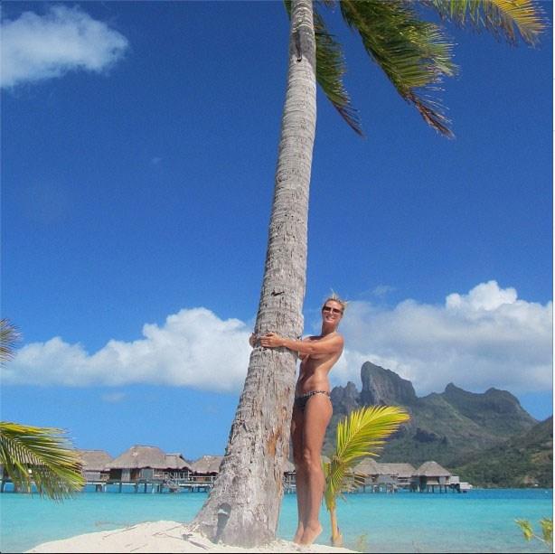 @HeidiKlum Last day in paradise,love Bora Bora !!