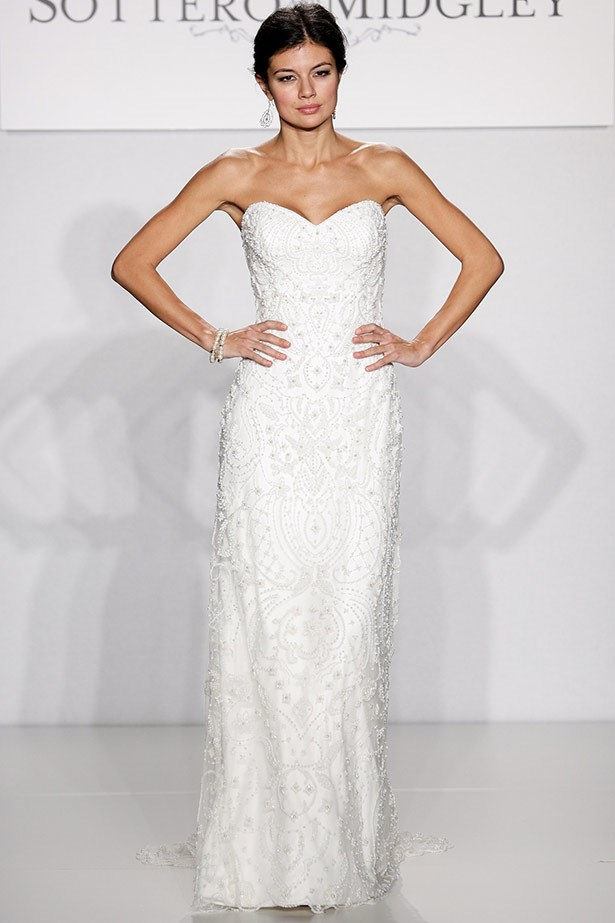Maggie Sottero AW14 bridal runway show in <br>New York