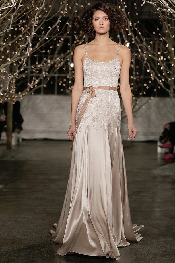 Reem Acra AW14 bridal runway show in <br>New York