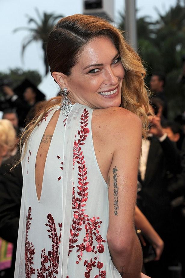 Erin Wasson 's tattoos