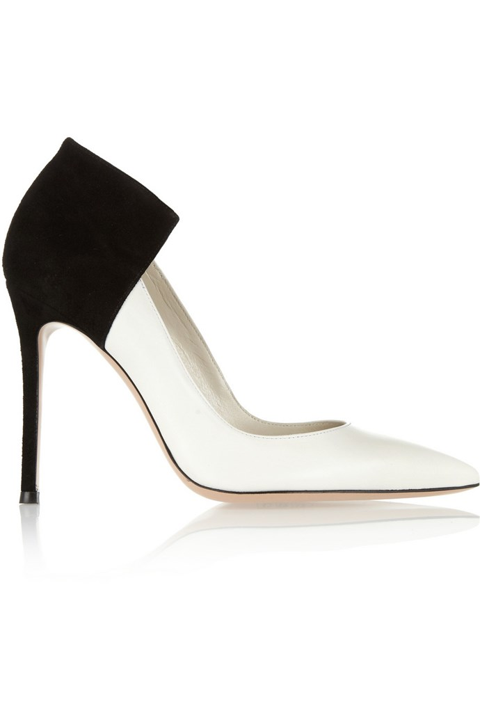 "<strong>Monochrome<br></strong> <br> ""Black and white accessories create a timeless yet high-impact look and Gianvito Rossi's two-tone leather and suede pumps are a seriously chic choice for a day at the races.""<br><br> <strong>Heels, approx $638, Gianvito Rossi, <a href=""http://www.net-a-porter.com/product/385473"">net-a-porter.com</a> </strong>"