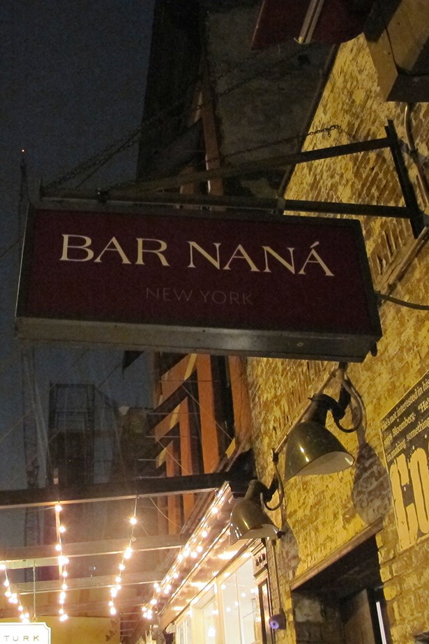 A fun night at the opening of David Rabin's new bar Bar Naná in The Meatpacking District.