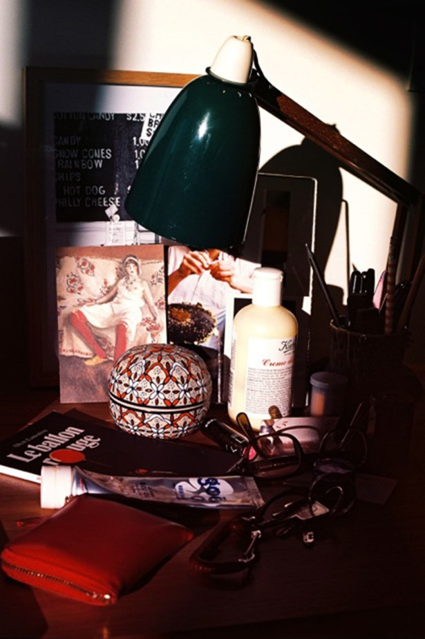 The late-afternoon sun hitting my desk