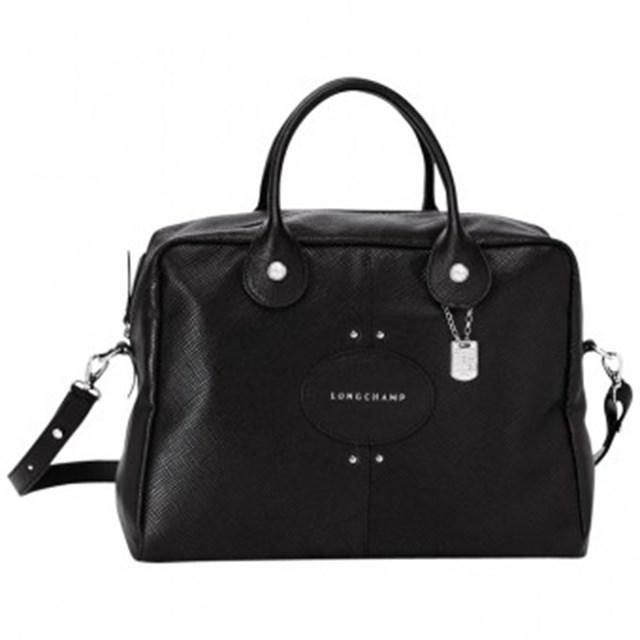 """Handbag, $849, Longchamp, <a href=""""http://www.huntleather.com.au/longchamp-quadri-handbag-1206786.html"""">huntleather.com.au</a>"""