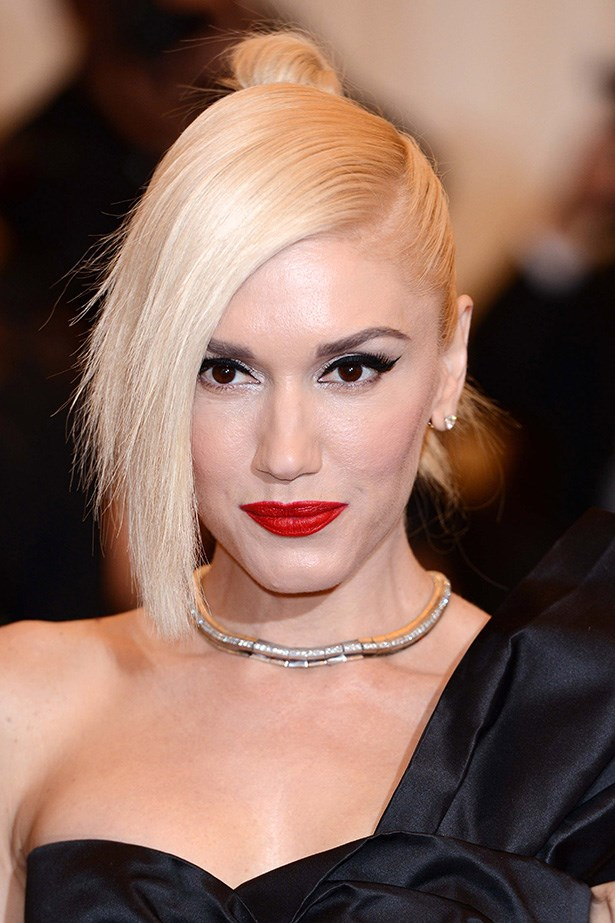 Gwen Stefani: rocking punk-platinum since the '90s. Her dalliances with bubble-gum pink and bright blue hair were summer romances compared to Stefani's mane-stay platinum hair (excuse the pun).