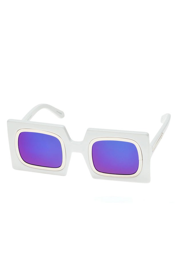 Sunglasses, $349, Karen Walker Eyewear, Karen Walker.com