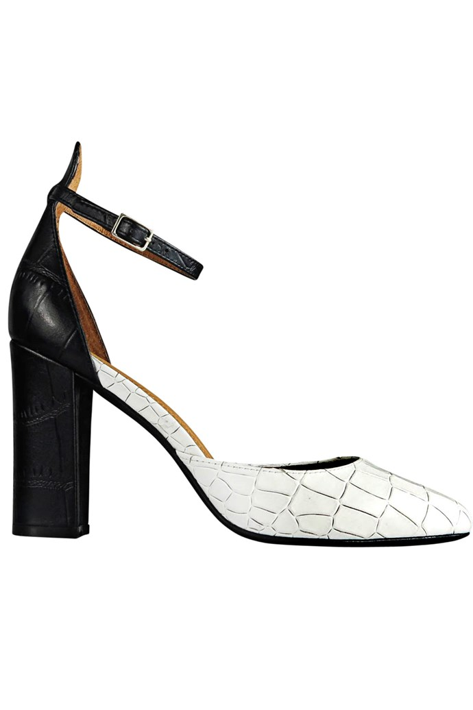 The perfect Derby Day heel. Heels, $160, Wittner, wittner.com.au