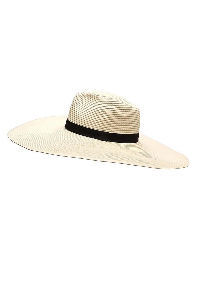 A classic wide-brim panama is a chic go-to for the hat uninitiated. Oversize fedora, $69.95, Witchery, witchery.com.au