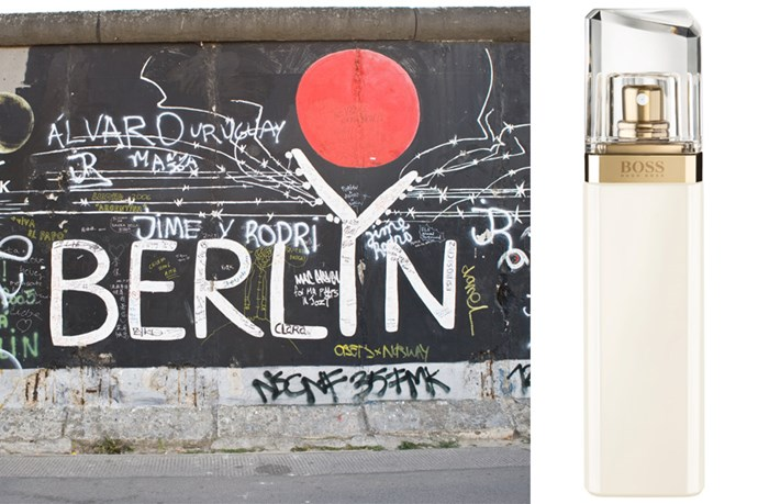 <p><strong>Berlin</strong>: Boss Jour Pour Femme, $76 (50ml), Hugo Boss, (02) 96955687</p> <p>Hugo Boss' new scent, Boss Jour Pour Femme, is a sophisticated and inspirational fragrance buzzing with zesty notes of grapefruit and lime. Travelling through Germany deserves a powerful a scent and this is definitely one to take along. </p>