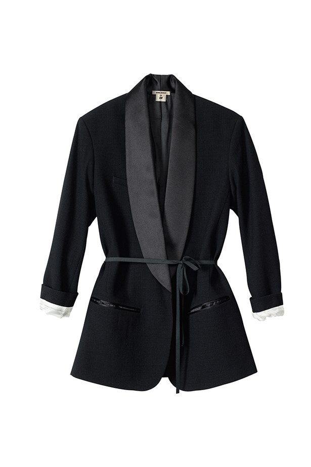 "<p>""I can't pick just one!! But I do love the tux jacket with tie, because it's oversized and a different take on a classic jacket."" </p> <p><strong>Nicole Bonython-Hines, Fashion Director</strong></p>"