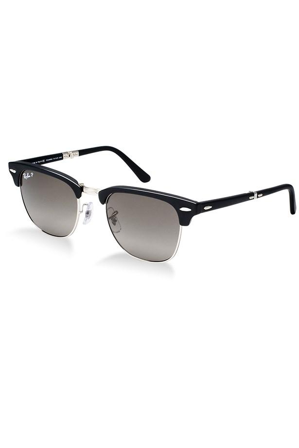 """<p>Sunglasses, $310, Ray-Ban,<a href=""""http://sunglasshut.com """"> sunglasshut.com </a></p>"""