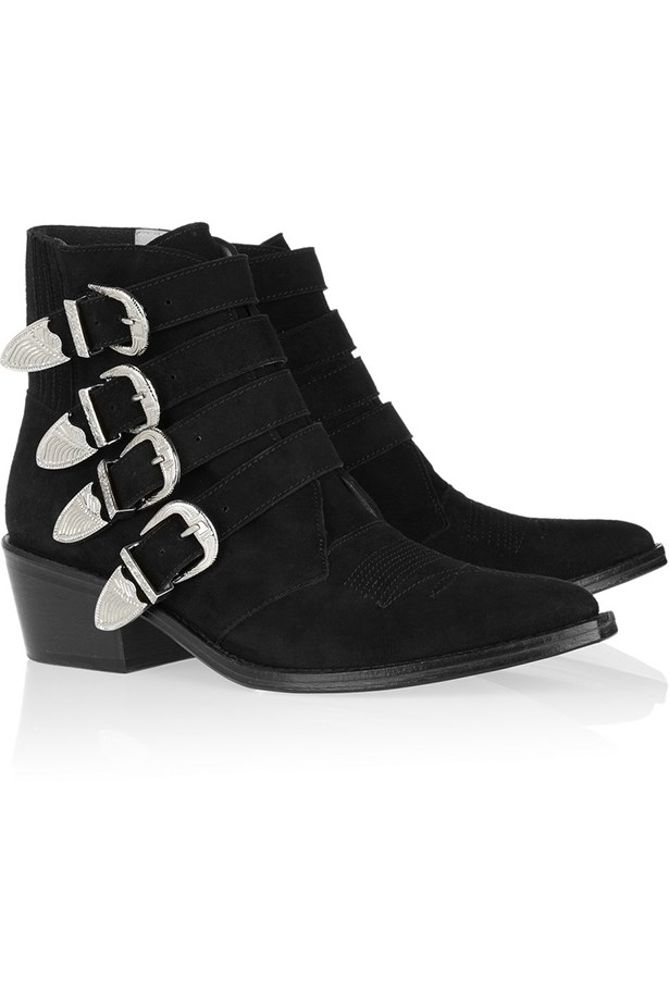 "<p>Boots, approx $484, Toga Pulla, <a href=""http://net-a-porter.com"">net-a-porter.com</a></p>"