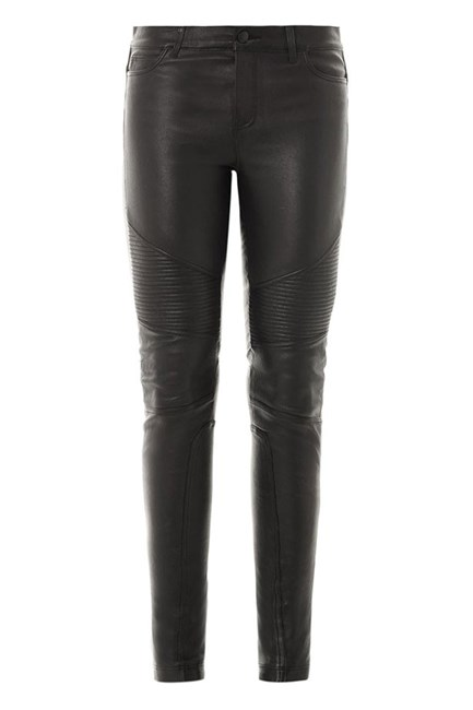 Leather pants, $1,835, Vince, matchesfashion.com