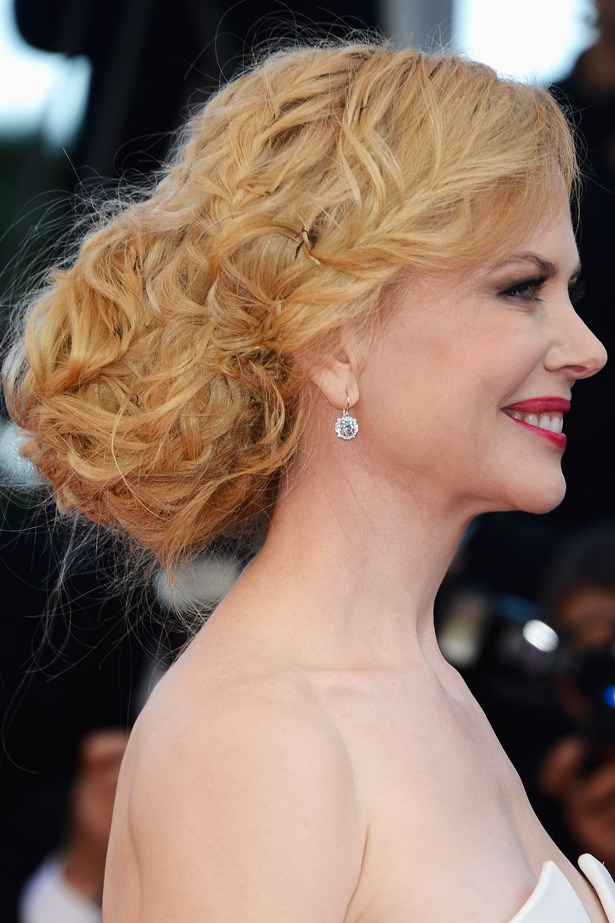 Unlike anything we've ever seen before, Nicole Kidman's textured, voluminous up 'do creates a unique take on braids at the 66th Annual Cannes Film Festival.
