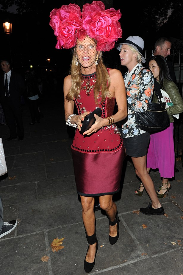 """<p><strong>Leona Edmiston</strong>: """"Stylish and chic are the guidelines but remember it's that unique touch that sets a great outfit apart.""""</p> <p>Anna Dello Russo sighting on September 16, 2012 in London, England</p>"""