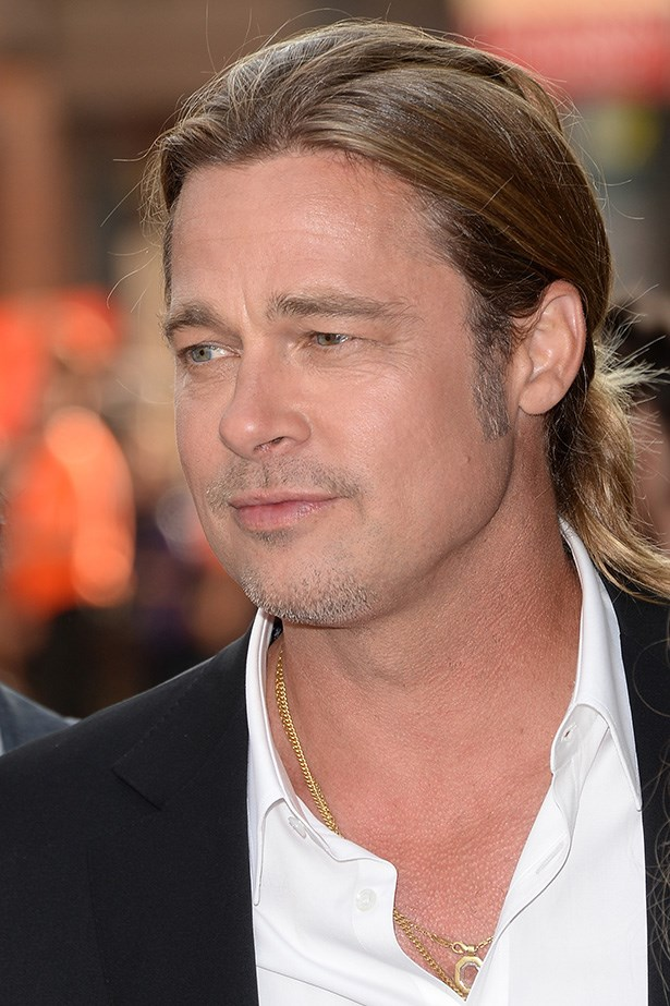 Brad Pitt returned to the man-bun fraternity earlier this year for a movie role – and we're so glad he did.