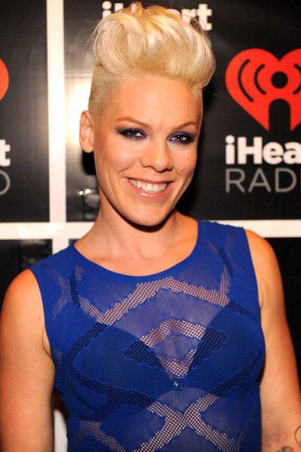 00s: Pink. Blush-coloured or not, the 163cm- tall singer knows the value of height – she's rocked the style for years.