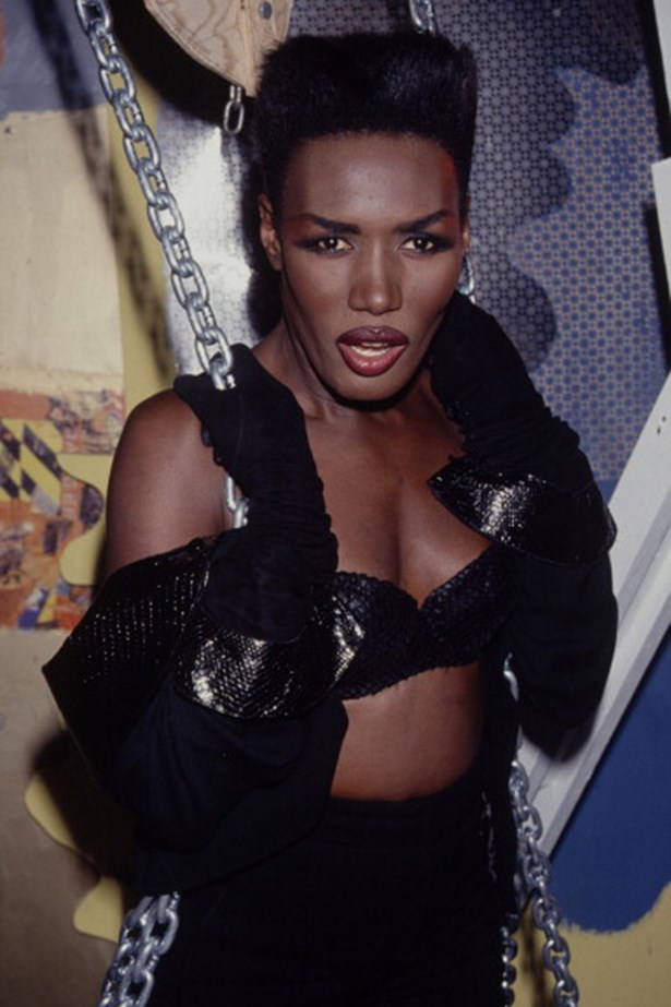 70s: Grace Jones. The model/actress/singer's sharp style started fashion's undying love affair with androgyny.