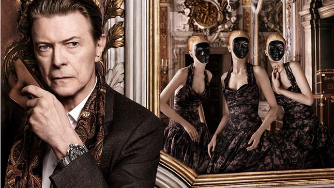 David Bowie for Louis Vuitton