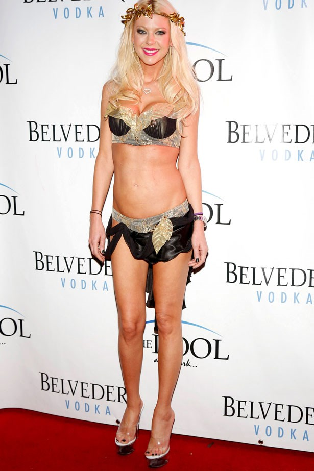 Unsurprisingly, Tara Reid opted for a highly minimal costume