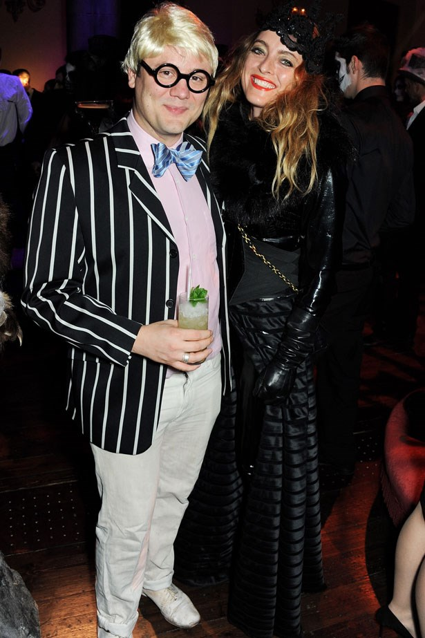 Alice Temperley and Nicholas Kirkwood at the UNICEF UK Halloween Ball