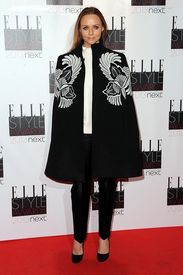 Stella McCartney on the red carpet