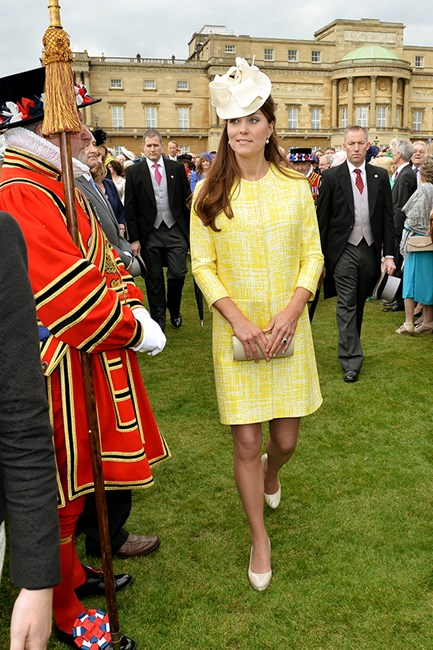 Kate Middleton wears Emilia Wickstead coat