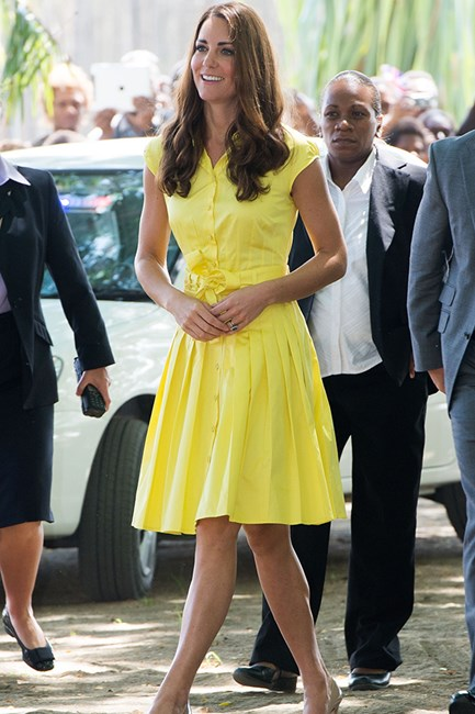 Kate Middleton wears Jaeger dress
