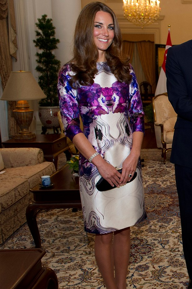 Duchess Kate wears Prabal Gurung dress
