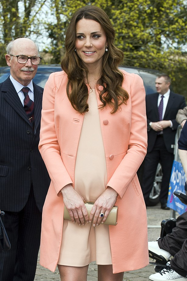 Duchess Kate wears Tara Jarmon coat