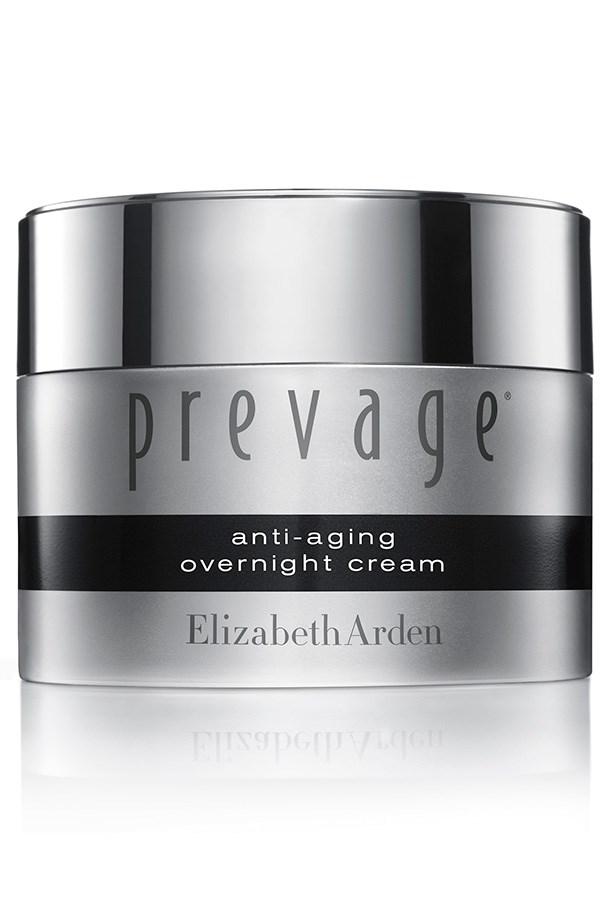 "Prevage Anti-aging Overnight Cream, $175, Elizabeth Arden, <a href=""http://elizabetharden.com.au"">elizabetharden.com.au</a> Containing powerful antioxidant ingredient Idebenone, Prevage's velvety moisturiser diminishes the appearance of age spots."