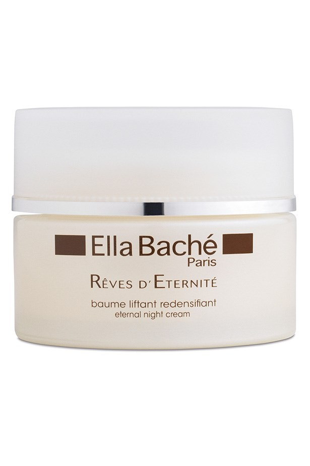 """Eternal Night Cream, $132, Ella Bache, <a href=""""http://ellabache.com.au"""">ellabache.com.au</a> For those who need a moisture boost, Eternal Night Cream nourishes the skin deeply. Hydrating with olive oil extract, it also contains royal jelly – an ingredient rich in amino acids and vitamins."""