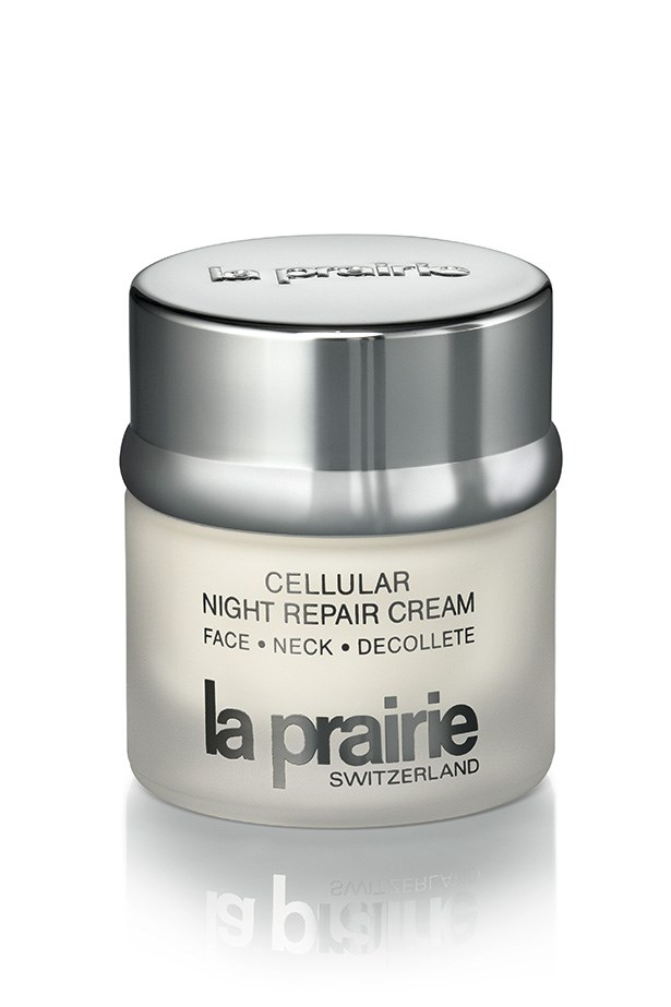 """Cellular Night Repair Cream Face Neck Décolleté Nighttime Restorative Treatment, $285, La Prairie, <a href=""""http://laprairie.com.au """">laprairie.com.au </a> A beauty splurge, for the face and the décolletage (which ages faster due to sun exposure) and let's be honest, gravity works against us ladies."""