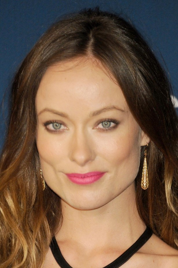 Sultry Olivia Wilde balances a statement pink lip with soft brown shadow at the LACMA Art & Film Gala.